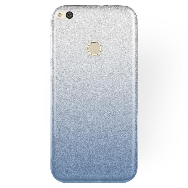 save off 86302 0d48b STELLA CASE COVER GLITTER BROCADE HUAWEI HONOR 8 LITE CLEAR-BLUE