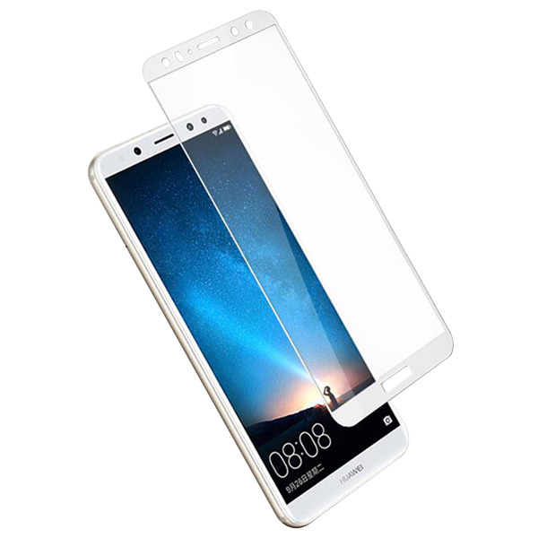 low priced 7bfa3 c448a Tempered Glass 9H FULL GLUE 3D Protector HUAWEI MATE 10 LITE WHITE