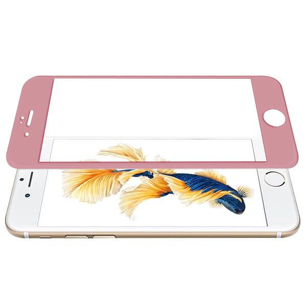 best sneakers 07d9f 6bb72 Tempered Glass 9H FULL GLUE 3D Protector IPHONE 7 PLUS PINK