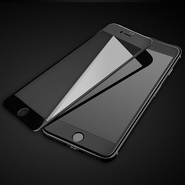 Tempered Glass 9H FULL GLUE 5D CARVING Protector IPHONE 6 6S BLACK