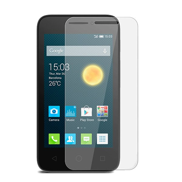 Tempered Glass Film 9H Oleophobic Screen Protector ALCATEL PIXI 3 4.0