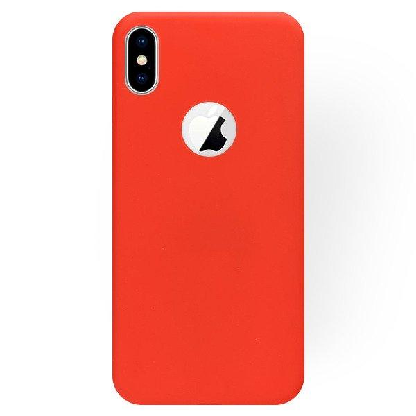 the latest 0cc65 01276 VELVET BACK CASE COVER MATT IPHONE X RED