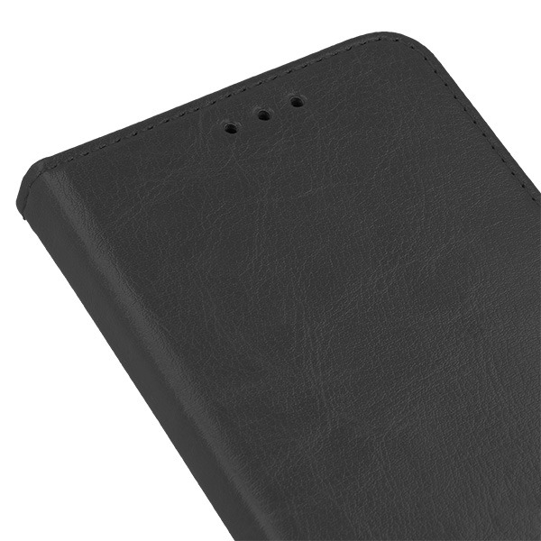 watch 9523f 21015 WALLET CASE COVER GENUINE LEATHER HUAWEI MATE 10 LITE BLACK
