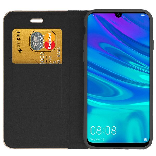 more photos 3e600 4bef2 WALLET CASE COVER Magnetic POSH HUAWEI P SMART 2019 BLACK