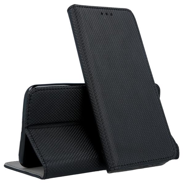 hot sale online c190f 0e4ea WALLET FLEX CASE COVER Magnetic SmartCase LENOVO MOTO E4 PLUS BLACK