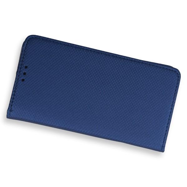 9884713939475d WALLET FLEX FLIP CASE COVER Magnetic SmartCase HTC U PLAY NAVY 64711 ...