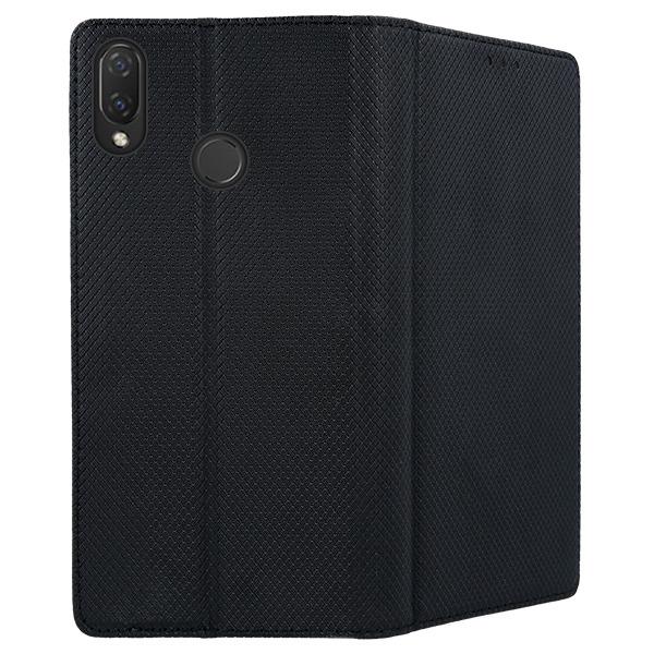 low priced 966cd 8becc WALLET FLEX FLIP CASE COVER Magnetic SmartCase HUAWEI NOVA 3I BLACK