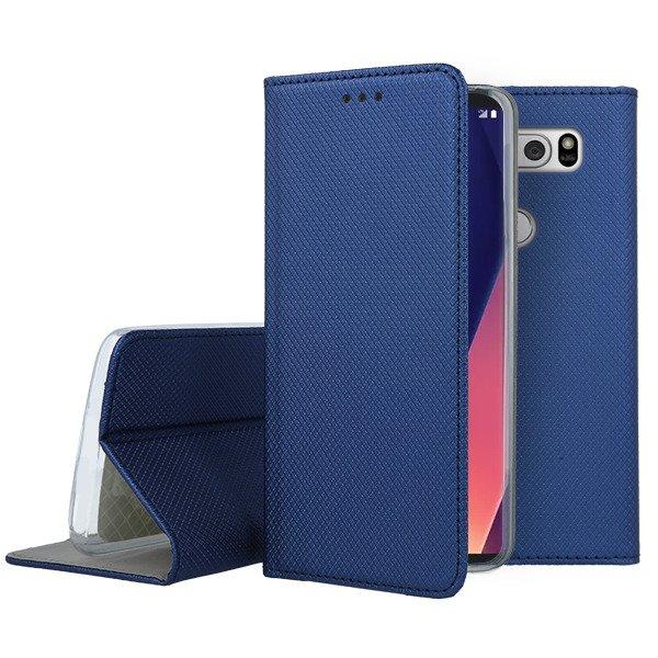 huge discount f243d fa737 WALLET FLEX FLIP CASE COVER Magnetic SmartCase LG V30 NAVY
