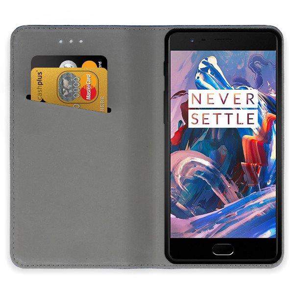buy online 380ea cc8e8 WALLET FLEX FLIP CASE COVER Magnetic SmartCase ONEPLUS 3 BLACK 96271 ...