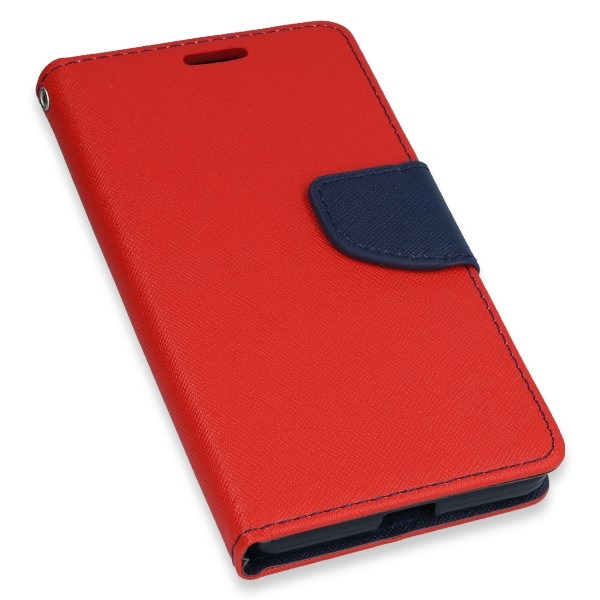 huge discount b3ab5 fbfe6 WALLET FLIP CASE COVER MAGNET pocketbook MICROSOFT LUMIA 950 RED