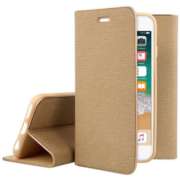 Wallet Flip Case Cover Magnetic Posh Huawei P10 Lite Gold