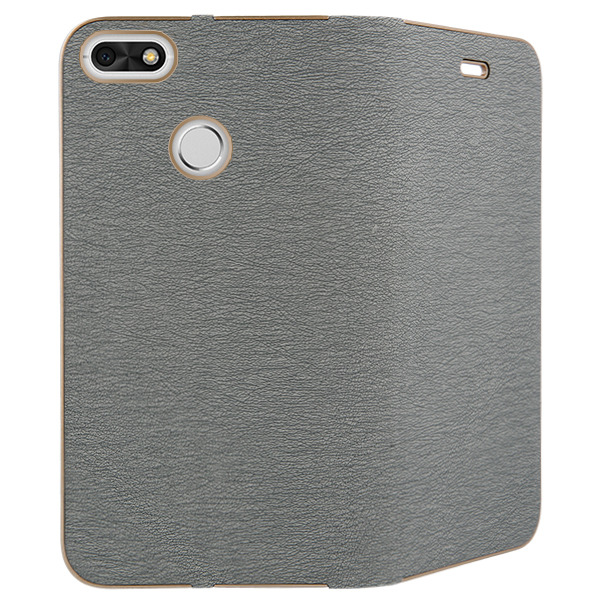 first rate ac790 d9209 WALLET FLIP CASE COVER Magnetic POSH HUAWEI P9 LITE MINI SILVER