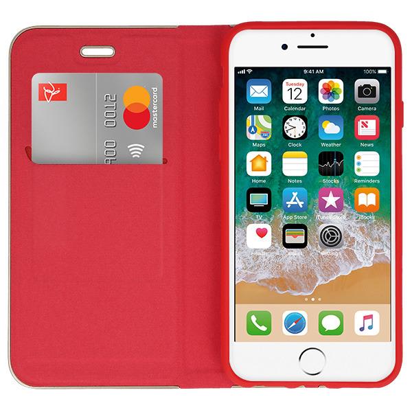 iphone 7 flip case red