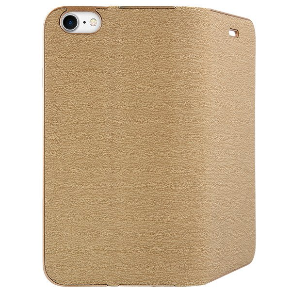 low priced 1a2ce aa907 WALLET FLIP CASE COVER Magnetic POSH XIAOMI REDMI NOTE 4 GOLD