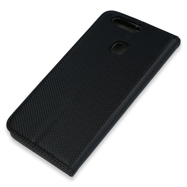quality design bc8de 4e7af WALLET FLIP CASE COVER Magnetic SmartCase HUAWEI P9 PLUS BLACK