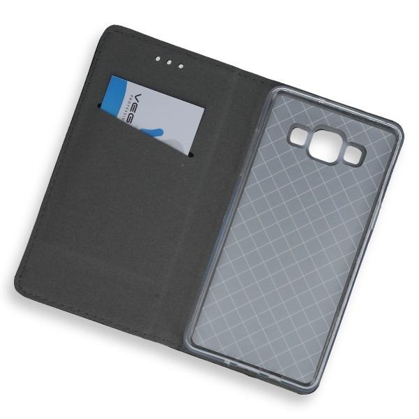 online store 0d456 8a09f WALLET FLIP CASE COVER Magnetic SmartCase SAMSUNG GALAXY A5 A500 BLACK