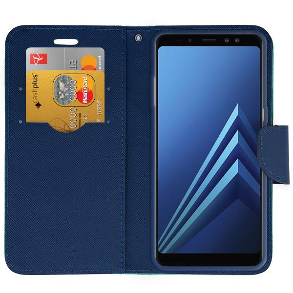 the best attitude ef07f 77d46 WALLET FLIP CASE COVER pocketbook SAMSUNG GALAXY A8 2018 SM-A530 ...