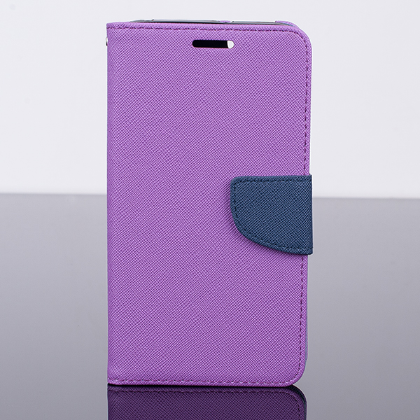 WALLET FLIP CASE COVER pocketbook magnet HUAWEI HONOR 4X PURPLE