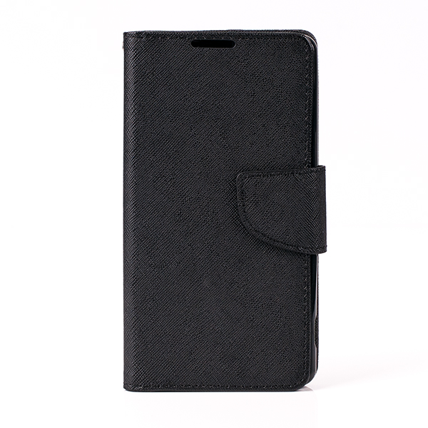 WALLET FLIP CASE COVER pocketbook magnet SONY XPERIA M5 BLACK