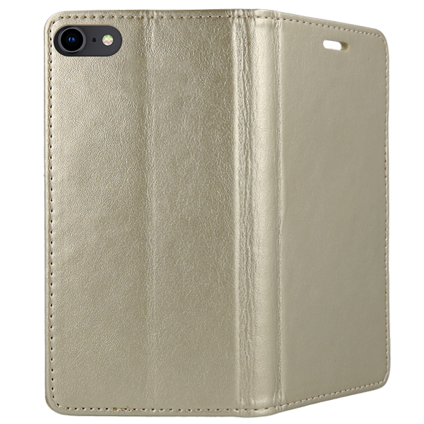 low priced cf98e e57ae WALLET FLIP COVER Magnetic SmartBook SAMSUNG GALAXY J3 SM-J300 GOLD
