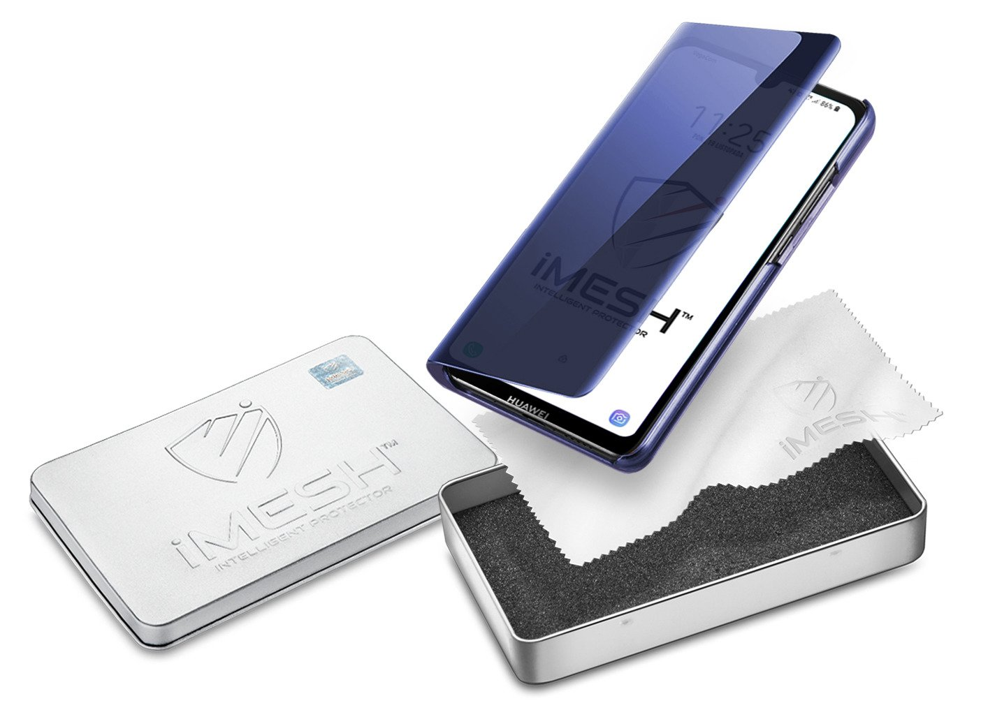 iMesh View case / cover in NAVY color for HUAWEI Y5 2019