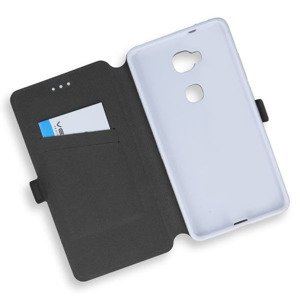 2in1 WALLET FLIP CASE COVER MAGNET pocketbook HUAWEI HONOR 5X WHITE