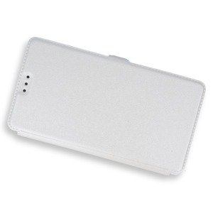 2in1 WALLET FLIP CASE COVER MAGNET pocketbook HUAWEI MATE 8 WHITE