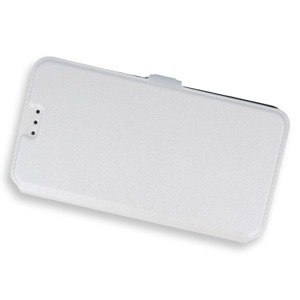 2in1 WALLET FLIP CASE COVER MAGNET pocketbook HUAWEI Y6 WHITE