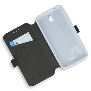 2in1 WALLET FLIP CASE COVER MAGNET pocketbook LENOVO B WHITE
