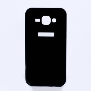 ALUMINIUM FRAME BUMPER CASE COVER SAMSUNG GALAXY J5 J500 BLACK + Glass