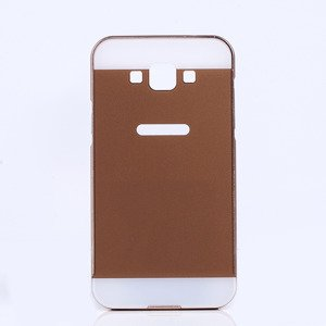 ALUMINIUM FRAME BUMPER CASE COVER for GALAXY GRAND MAX SM-G720 GOLD