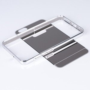 ALUMINIUM FRAME PROTECT BUMPER MIRROR CASE COVER HUAWEI HONOR 4X SILVE