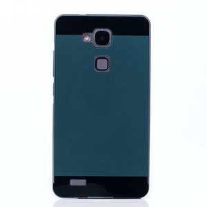 ALUMINIUM FRAME PROTECTION BUMPER CASE COVER HUAWEI MATE 7 BLACK