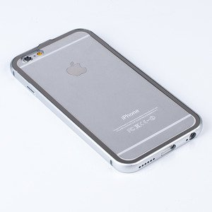 ALUMINIUM FRAME PROTECTION BUMPER CASE COVER IPHONE 6 6S 4.7 SILVER