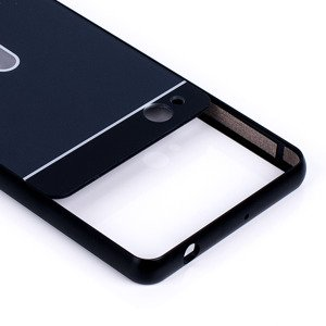 ALUMINIUM FRAME PROTECTION BUMPER CASE COVER ZTE NUBIA Z9 MINI BLACK
