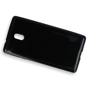BACK CASE COVER GEL RUBBER JELLY NOKIA 3 BLACK