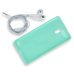BACK CASE COVER GEL RUBBER JELLY NOKIA 3 MINT