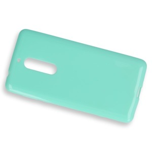 BACK CASE COVER GEL RUBBER JELLY NOKIA 5 MINT