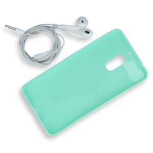 BACK CASE COVER GEL RUBBER JELLY NOKIA 6 MINT