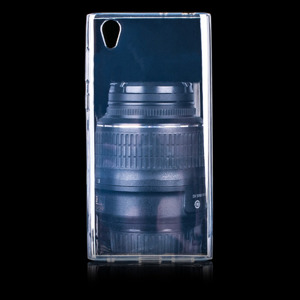 BACK CASE COVER GEL RUBBER JELLY SONY XPERIA L1 CLEAR