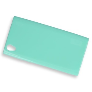 BACK CASE COVER GEL RUBBER JELLY SONY XPERIA L1 MINT
