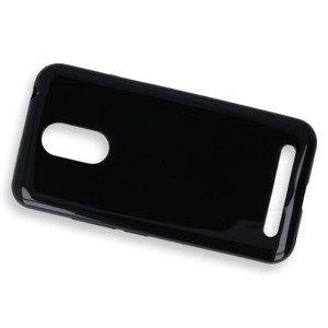BACK CASE COVER GEL RUBBER JELLY ZTE BLADE A602 BLACK
