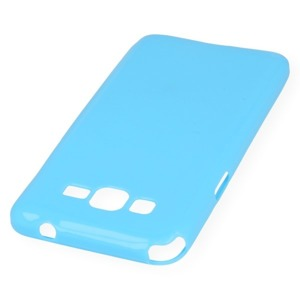 BACK CASE COVER GEL TPU for SAMSUNG GALAXY GRAND PRIME SM-G530 BLUE
