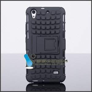BACK CASE COVER HYBRID CASE HARD HUAWEI ASCEND G620S BLACK