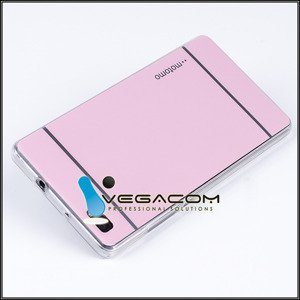 BACK CASE COVER MOTOMO TPU GEL RUBBER HUAWEI P8 LITE PINK