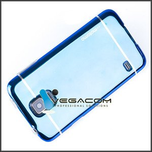 BACK CASE COVER MOTOMO TPU GEL RUBBER SAMSUNG GALAXY S5 SM-G900 BLUE