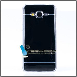 BACK CASE COVER MOTOMO TPU GEL SAMSUNG GALAXY GRAND PRIME G530 BLACK