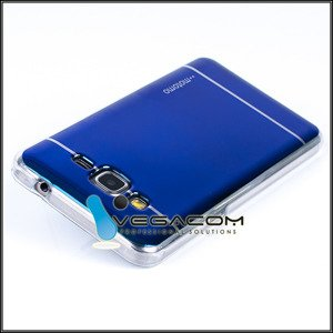BACK CASE COVER MOTOMO TPU GEL SAMSUNG GALAXY GRAND PRIME G530 BLUE
