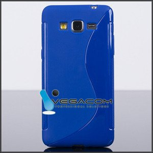 BACK CASE COVER SLINE S-LINE SAMSUNG GALAXY GRAND PRIME G530 sapphire