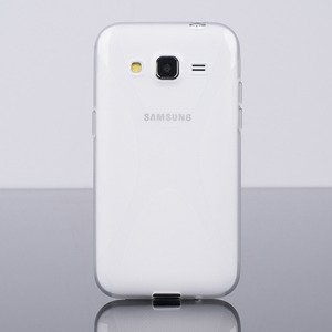 BACK CASE COVER X-LINE GEL SAMSUNG GALAXY CORE PRIME G360 TRANSPARENT
